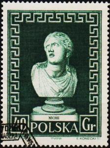 Poland. 1956 40g S.G.984 Fine Used