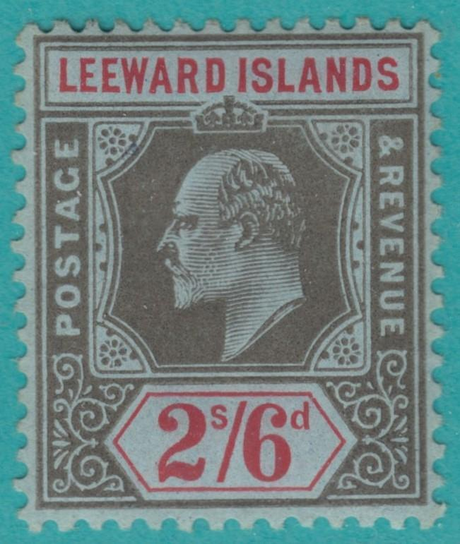LEEWARD ISLANDS 56 MINT HINGED OG * NO FAULTS  EXTRA FINE