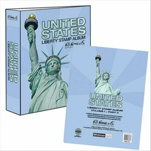 HE Harris USA LIBERTY 1 STAMP ALBUM Part C 2007-2016 WITH BINDER & PAGES