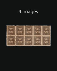 VINTAGE:CUBA 1896 REVOLUTION ISSUE,BLKS $1295 EST LOT 1896VV