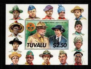 Tuvalu MNH S/S 464 Scout Jamboree 1988