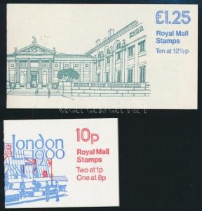 Great Britain stamp 1979-1982 2 diff stampbooklets MNH 1979-1982 WS236010