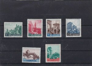 SAN MARINO  MOUNTED MINT OR USED STAMPS ON  STOCK CARD  REF R945
