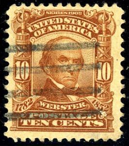 U.S. #307 Used F-VF