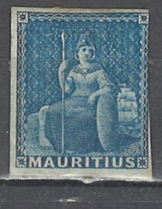 COLLECTION LOT # 2568 MAUTITIUS #8 MH 1858 CV=$10