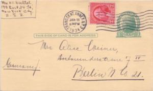United States Washington Bicentennia 2c Washington Bicentennial on 1c Green J...