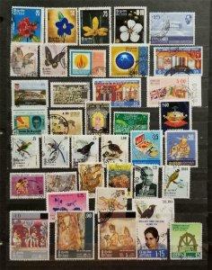 SRI LANKA Ceylon Stamp Lot Used T2718