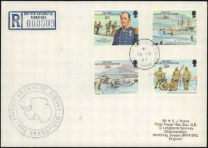British Antarctic Territory #98, Antarctic Cachet and/or Cancel