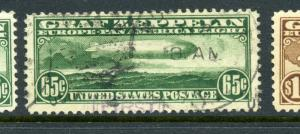 Scott C13 Graf Zeppelin Air Mail Used Stamp (Stock C13-91)