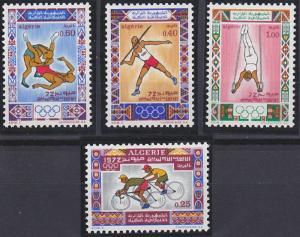 Algeria 473-476 MNH (1972)