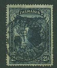 Tasmania  SC# 89 Tasman's Arch, 2-1/2d, CDS