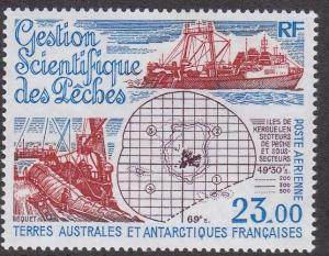 French Southern Antarctic Territory # C129, Fishery Management, NH, 1/2 Cat.