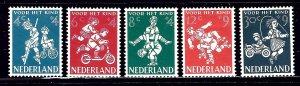Netherlands B326-30 MH 1958 Children's Games    (ap1265)