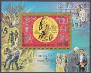 1977 Guinea-Bissau 432/B54 75th Anniversary of the Nobel Prize 5,50 €