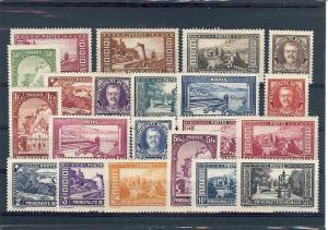 Monaco, 110-30 (21v), Various Designs Singles,**Hinged**