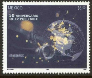 MEXICO 2348, CABLE TV IN MEXICO, 50th ANNIVERSARY. MINT, NH. VF.