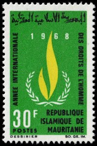 Mauritania - Scott 244 - Mint-Never-Hinged