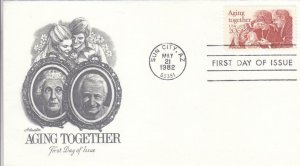 1982, Aging Together, Artmaster, FDC (D13645)