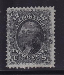 97 VF+ used well centered neat cancel with nice color cv $ 250 ! see pic !