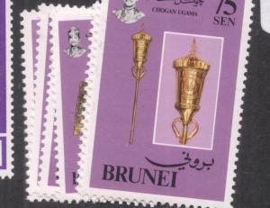 Brunei SC 320-5 MNH (9deq)