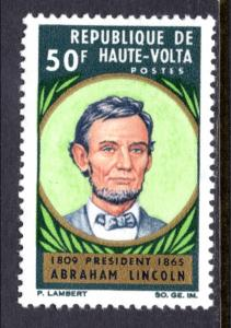 Burkina Faso 144 Lincoln MNH VF