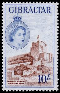 Gibraltar Scott 144 (1953) Mint NH VF, C