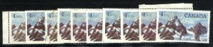 Can #934   (10) Glacier Natioal Park    used VF 1984 PD