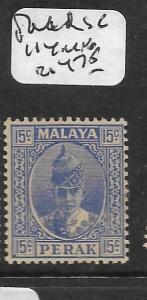MALAYA PERAK  (P0107B)  15C  SG 114  MNH