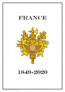France 1849-2020 PDF PDF(DIGITAL) STAMP ALBUM PAGES