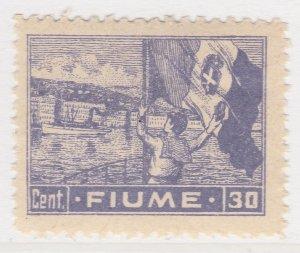 Fiume 1919 30c Very Fine MNH** Stamp A21P11F4954