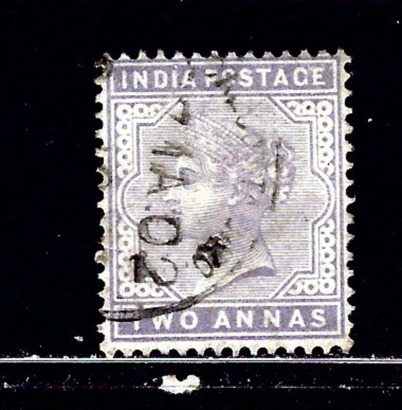 India 58 Used 1900 issue