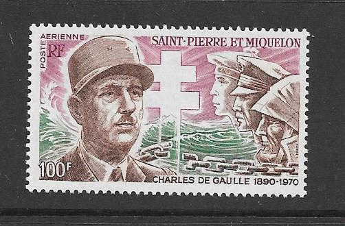 St. Pierre and Miquelon #C50 VF Mint NH