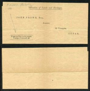 OHMS 1896 Stationery Valuation of Lands and Heritages