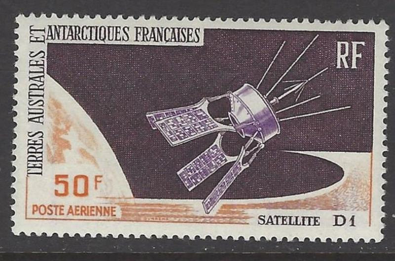 FSAT TAAF 1966 French Satellite D-1 VF MNH (C11)