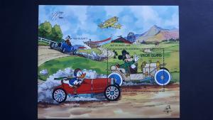 Disney - Union Island (St. Vincent Grenadines) 1989. - Cars ** MNH Block