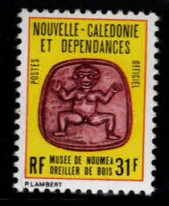 New Caledonia (NCE) Scott o26B MNH** officialt stamp 1980