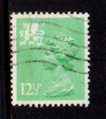 Wales - #WMMH19 Machin Queen Elizabeth II - Used