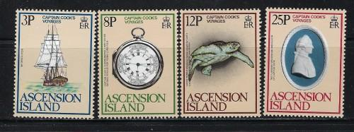 Ascension 235-38 NH 1979 Capt. Cook Issue