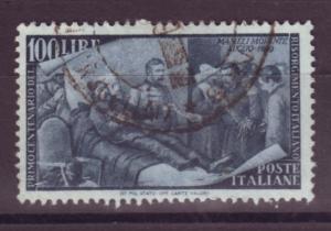 J17141 JLstamps 1948 italy hv of set used #506 mameli $27.50 scv