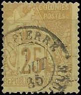 French Colonies  - 53 - Used - SCV-5.50