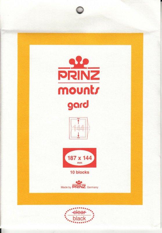 PRINZ 187X144 (10) BLACK MOUNTS RETAIL PRICE $15.00