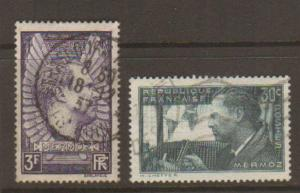 France #325-6 Used