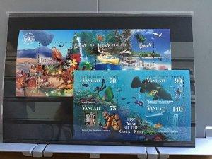 Vanuatu mint never hinged stamps sheets   R25021