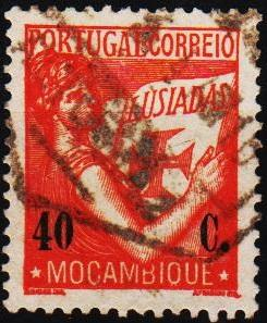 Mozambique. 1938 40c S.G.337 Fine Used