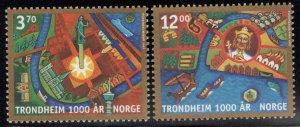 Norway Scott 1168-1169 MNH** set