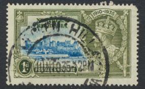 Northern Rhodesia  SG 18  SC# 18 Used  short perf see detail and scan