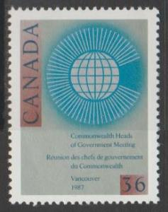 Canada Scott #1147 Heads of Government in Vancouver Stamp - Mint NH Single