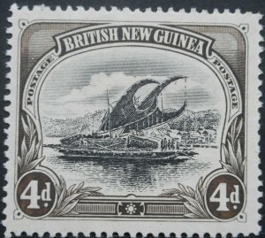 British New Guinea/Papua 1901 Four Pence SG 13 mint