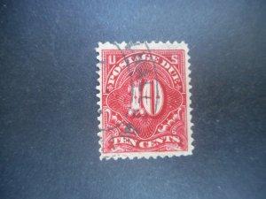 U.S. # J 49a VF Used