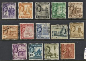 STAMP STATION Malta #Mixed Mint / Used 15 Stamps - Unchecked